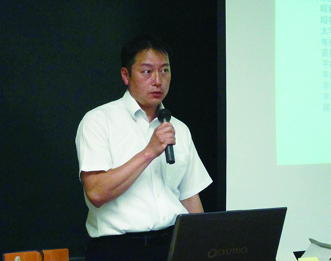 株式会社シンデン代表取締役 新矢 一さん